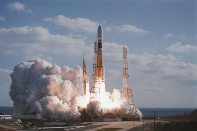 JAXAによるH-IIBロケット2号機打上げ (C) JAXA