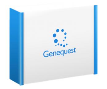 購入すると届く遺伝子解析キット。約290の項目それぞれの病気リスク、体質などの情報が得られる。 (画像提供:ジーンクエスト)